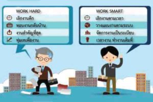 workhard vs worksmart