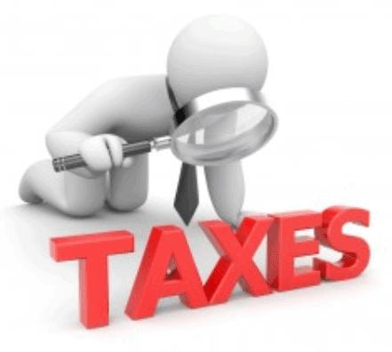 ถูกตรวจสอบภาษี