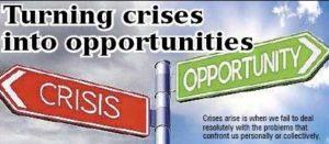 พลิกวิกฤตให้เป็นโอกาส
